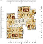珠光流溪御景1室1厅1卫0平方米户型图