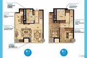 南京金奥缤润汇3室2厅1卫73平方米户型图