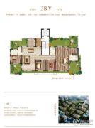 荣邦城4室2厅3卫265平方米户型图