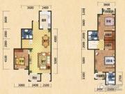 世嘉光织谷3室2厅3卫0平方米户型图