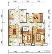 兰石豪布斯卡3室2厅2卫116平方米户型图