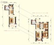 北国奥林匹克花园2室2厅1卫96平方米户型图