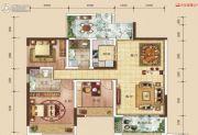 中建・伴山壹号4室2厅2卫104平方米户型图