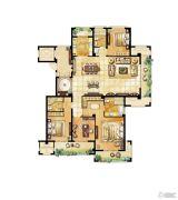君悦豪庭4室2厅3卫0平方米户型图