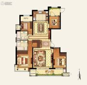 玉环新城吾悦广场4室2厅2卫167平方米户型图