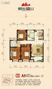 恒生・望山3室2厅1卫111平方米户型图