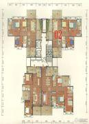 碧海园3室2厅2卫130--140平方米户型图