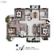 颐馨・湿地・壹�4室2厅2卫169--180平方米户型图
