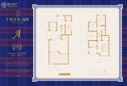 十里逸墅3室2厅3卫224平方米户型图