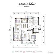 华夏四季4室2厅2卫0平方米户型图