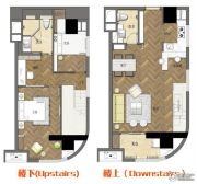 无锡缤悦湾电商公寓3室2厅2卫63--95平方米户型图