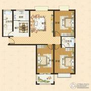 中瓯名城3室2厅2卫135平方米户型图