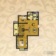 芙蓉山庄2室2厅0卫89平方米户型图