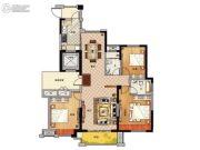 鹏欣领誉 高层3室2厅2卫141平方米户型图