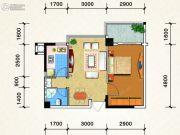 鑫隆御景1室1厅1卫0平方米户型图