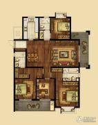 海峡城4室2厅3卫178平方米户型图
