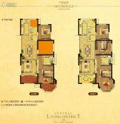 中南・世纪城3室2厅2卫115平方米户型图