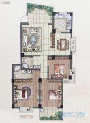 怡和嘉园二期2室2厅2卫119平方米户型图