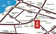 鸿景悦园交通图