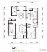 顶秀美泉小镇3室2厅1卫140平方米户型图