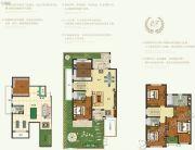 恒达北海龙城4室2厅4卫205平方米户型图