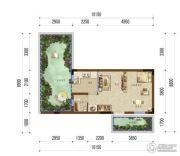 瑞午上谷院1室1厅0卫27平方米户型图