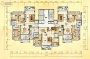 润晖新城3室2厅2卫121--141平方米户型图