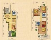 世嘉光织谷3室2厅3卫195平方米户型图