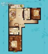 北海・水印泉山2室2厅1卫118平方米户型图