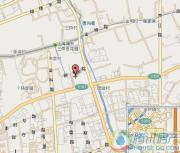 华洲君庭交通图