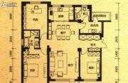 际盛・紫郡河畔花园3室2厅2卫0平方米户型图