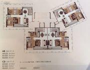 宝丰新城3室2厅2卫100--120平方米户型图