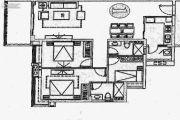 森悦华庭3室2厅2卫125平方米户型图