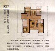 御龙仙语湾2室2厅1卫99平方米户型图