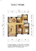 碧桂园・天誉4室2厅2卫0平方米户型图