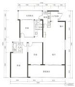 晟安・丽湾名邸3室2厅2卫160--170平方米户型图