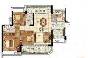 悦盈新城3室2厅2卫118平方米户型图