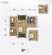 �上II熟地当归3室2厅1卫94平方米户型图