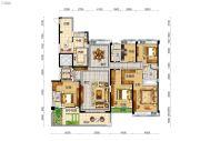 碧桂园太东天樾湾5室2厅3卫270平方米户型图