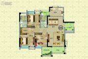 奥园公园一号3室2厅0卫104--109平方米户型图