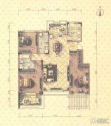 益田瓦萨小镇3室2厅2卫138平方米户型图