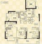 凤凰台3室2厅2卫0平方米户型图