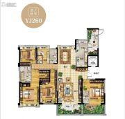 碧桂园南阳首府5室2厅3卫282平方米户型图