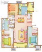 万科・金色悦城1室1厅1卫0平方米户型图
