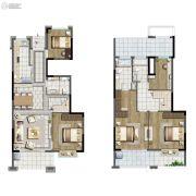 中国铁建青秀澜湾5室2厅3卫164平方米户型图