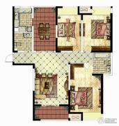 华仁凤凰城3室2厅2卫142平方米户型图