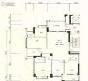 星湖城4室2厅2卫146平方米户型图