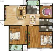 千玺�吩�3室2厅2卫153平方米户型图