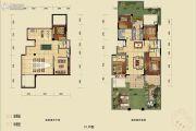 蓝光公园悦府4室2厅2卫118平方米户型图