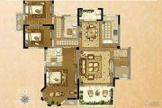 毕加索花园小镇3室2厅2卫0平方米户型图